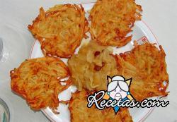 Patatas rosti (tortillitas)