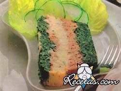 Paté vegetal tricolor