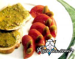 Pavo en salsa verde
