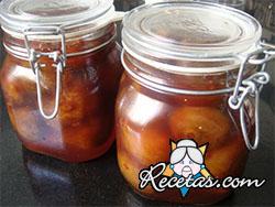 Peras en vinagre