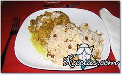 Pichones con arroz