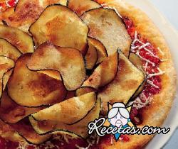 Pizza con berenjenas