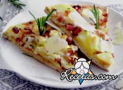 Pizza de patata