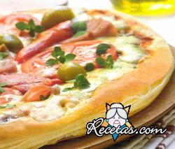Pizza ultra rápida