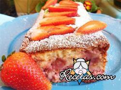 Plumcake de fresas y ricota