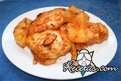 Pechuga de pollo a la española