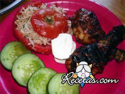 Pollo a la húngara