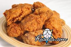 Pollo frito estilo americano