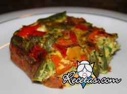 Pudin de verduras