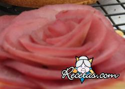 Rosa de peras al vino rojo