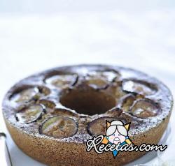 Rosca de chocolate y almendras