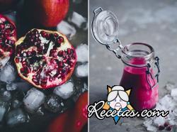 Smoothie de remolachas y fresas