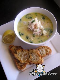 Sopa de pescados lorenesa