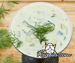 Sopa de yogur