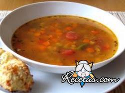 Sopa griega de verduras