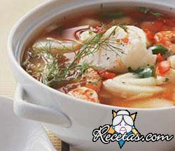 Sopa de pescado a la levantina