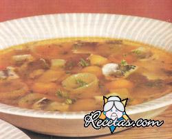 Sopa de pescado danesa