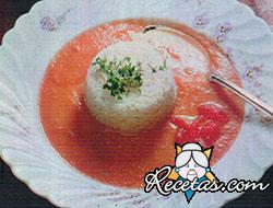 Sopa provenzal de tomate