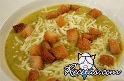 Sopa de verduras provenzal