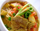 Soto Daging (Sopa de carne con especias)