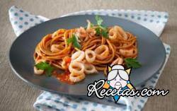 Spaghetti a la marinera
