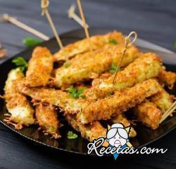 Sticks fritos de aguacate