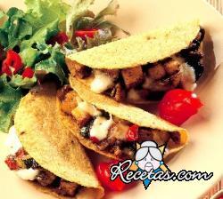 Tacos mediterráneos