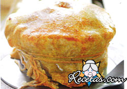 Tarta de berenjenas y chía