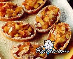 Tartaletas de manzanas y almendras