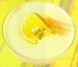 Pudín de Té con Naranja