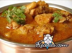 Ternera al curry