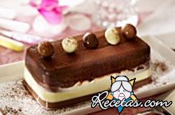 Terrina de chocolate al Cointreau