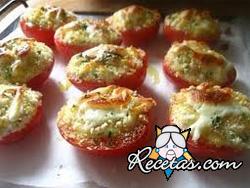 Tomates rellenos gratinados
