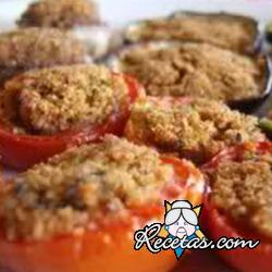 Tomates rellenos calientes