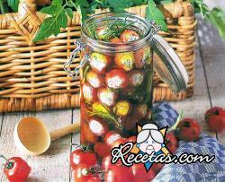 Tomatitos al roquefort