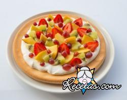 Torta de frutas sin gluten