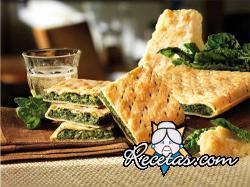 Torta rústica de verduras (Erbazzone)