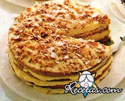 Torta de avellanas y almendras