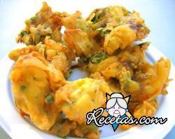 Tortillas indias (Pakora)