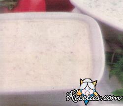 Dip de queso blanco y nueces