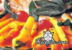 Zanahorias a la salvia