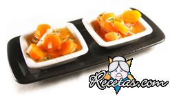 Zanahorias con salsa picante