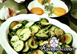 Zucchini aromados