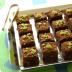 Cuadraditos de chocolate y pistachos