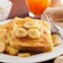 French toast con plátanos y canela