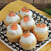 Muffins salados con salmón ahumado