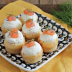 Muffins salados de salmón ahumado
