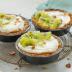 Tartines de granola y kiwi