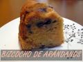 BIZCOCHO DE ARANDANOS