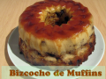 Bizcocho de muffins de chocolate